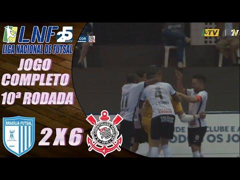 JOGO COMPLETO: Brasília Futsal 2 x 6 Corinthians – 10ª Rodada LNF 2020 (29/09/2020);