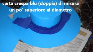 getlinkyoutube.com-tutorial cappello in cartoncino