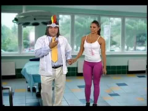 Rocio Miranda con el Dr. Max Sano