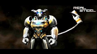 getlinkyoutube.com-REAL STEEL SCORPION & Dreadlord & ASURA VS Ambush & Aquabot & Bluebot New Robots Update