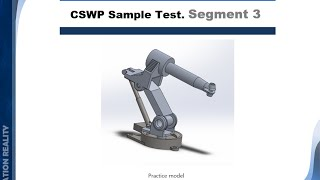 getlinkyoutube.com-16-12 Solidworks Tutorial | CSWP segment 3 | Practice Test #1 | BWEngineering