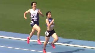 getlinkyoutube.com-2016東京都高校陸上 (都総体) 女子七種競技 800m 1組