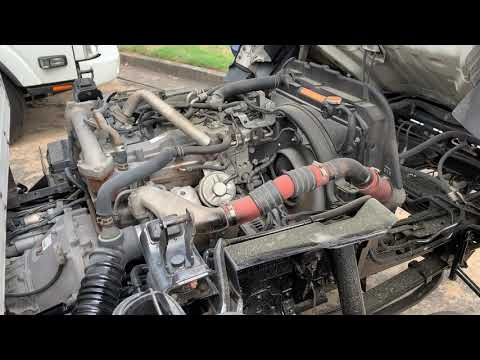 2012 ISUZU NPR right side of engine