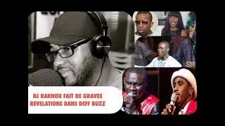 Deff Buzz, DJ RAKHOU reçu par Tange Tandian , L'ingratitude des artistes , problemes dans le SHOWBIZ