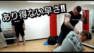 getlinkyoutube.com-格闘技やってそうなヤバそうなヤツが『あっ』という間にやられる!