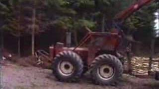 County Highland Bear and Valmet tractor