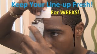 getlinkyoutube.com-How to Keep Your Line-up Fresh after a Hair Cut!