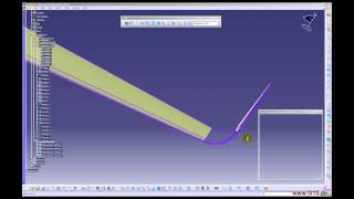 getlinkyoutube.com-CATIA V5   GSD Tutorial  aircraft wing clip7