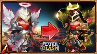 getlinkyoutube.com-Castle Clash Evolving Michael!!