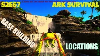 5 MORE Amazing Base Locations | Best Places to Build | (E67) ARK: Survival Evolved