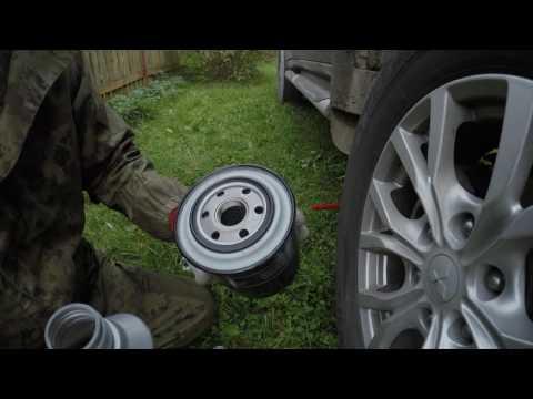 Замена моторного масла на Pajero Sport II 2.5D