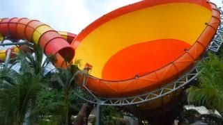 getlinkyoutube.com-World's Largest Vortex Water Ride 2013 - THE VUVUZELA