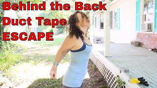 getlinkyoutube.com-Behind the Back Duct Tape Escape