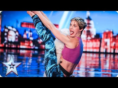 Mahny and Robbie bring Doga to BGT  | Auditions Week 1 | Britain's Got Talent 2017