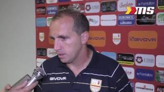 Messina-Paganese 0-2, il tecnico Sasà Marra in sala stampa