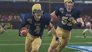 getlinkyoutube.com-NCAA Football 14 - SS Road To Glory Ep. 48 - Senior Season Allstate Sugar Bowl