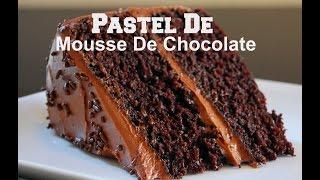 getlinkyoutube.com-Pastel De Mousse De Chocolate Casero y Riquisimo!