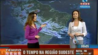 getlinkyoutube.com-Pryscilla Paiva - Programa Tempo News, na Record News