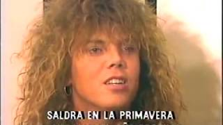getlinkyoutube.com-EUROPE / Interview - en Numero 1 y A Tope, Spain / 1987