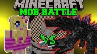 getlinkyoutube.com-GIRLFRIEND VS MOBZILLA - Minecraft Mob Battles - OreSpawn Mod