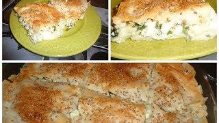 getlinkyoutube.com-Bourek Turc au fromage - Peynirli borek