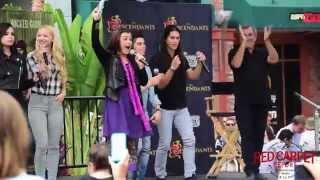 "getlinkyoutube.com-Descendants Cast ""Did I Mention"" LIVE at the Downtown Disney #DescendantsFanEvent"