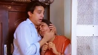 Kamal Haasan Comedy - Michael Madana Kama Rajan Tamil Movie Scene - Plus 2