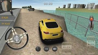 getlinkyoutube.com-Taxi Driving 3D Android Gameplay #7