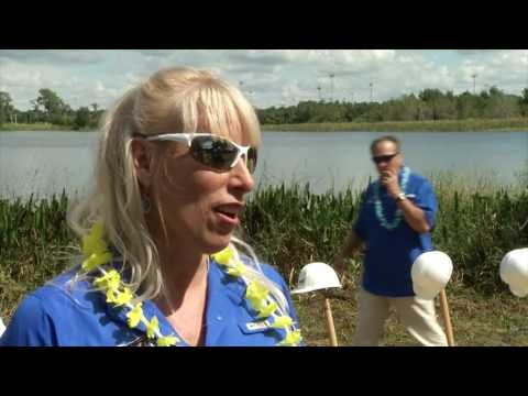 USA Water Ski Foundation Ground Breaking