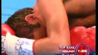 getlinkyoutube.com-Oscar De La Hoya vs. Bernard Hopkins 9th Rd KO