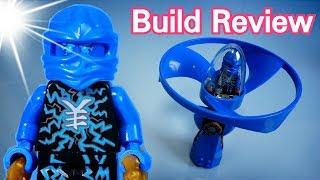고스트 닌자고 에어짓주 닌자 제이 Lego Ninjago 70740 Jay AirJitzu - Build Review