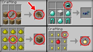 getlinkyoutube.com-✔ Minecraft: 10 Crafting Recipes That Changed