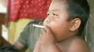 getlinkyoutube.com-Ребенок курит 40 сигарет в день - Моя Ужасная История