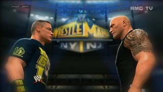 getlinkyoutube.com-WWE 2K14 - The Rock vs John Cena | WrestleMania 29 Promo