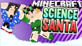 getlinkyoutube.com-Minecraft Christmas Adventure Map - Science Santa #2 FESTIVE PARKOUR