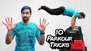 10 Parkour Tricks for Beginners (Learn Parkour and Freerunning) width=