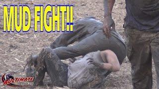 getlinkyoutube.com-GIRLS WILL BE GIRLS!.....MUD FIGHT! ATV MUDDING FUN!