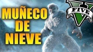 getlinkyoutube.com-Muñeco de Nieve OCULTO y MISTERIOSO - Misterios GTA V - Easter egg Muñeco