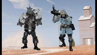 getlinkyoutube.com-TF2 - MVM Sergeant Crits & Captain Punch Bosses