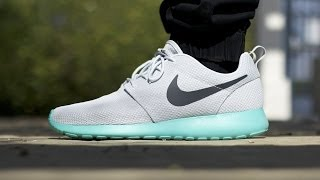 "getlinkyoutube.com-Nike Roshe Run ""Calypso"" (on feet)"