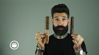 getlinkyoutube.com-How I Tame a Thick & Curly Beard   Carlos Costa