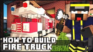 getlinkyoutube.com-► Minecraft : How to Make - Fire Truck