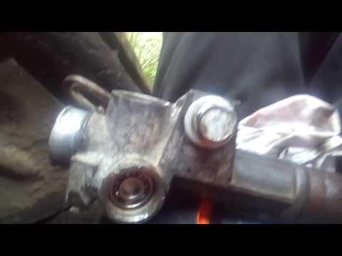 Chrysler voyager 3. Рулевая рейка
