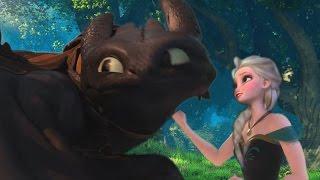 getlinkyoutube.com-The Heart wants what it wants (Hiccup/Elsa)