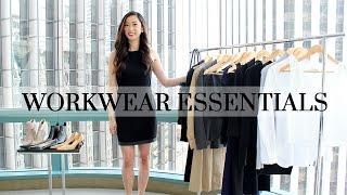 getlinkyoutube.com-Work Wardrobe Essentials | LookMazing