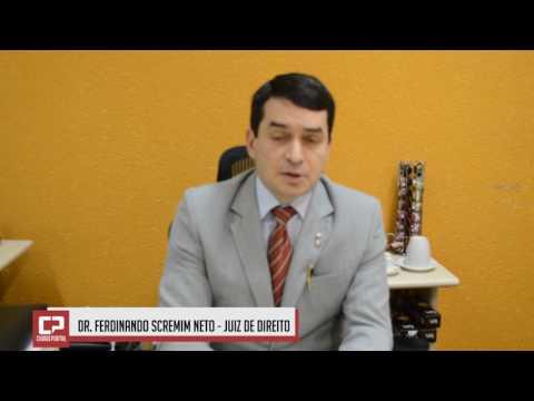 Dr. Ferdinando agradece a população de Juranda e Ubiratã pela participação para manter o Fórum Eleitoral da cidade