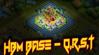 getlinkyoutube.com-Castle Clash: HBM Base - Q,R,S & T ❚ TH - 20 - 23 ❚ My best HBM-T attempt
