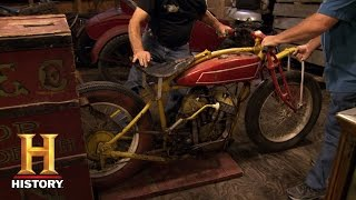 getlinkyoutube.com-American Restoration: A Scout Rides the Wheel of Death | History