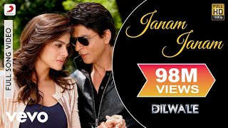 Janam Janam - Dilwale | Shah Rukh Khan | Kajol | Pritam | Arijit | Full Song Video