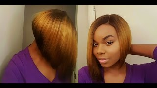 getlinkyoutube.com-Bobbing into Spring! | $28 | Janet Collection Brazilian Scent Sarah Lace Wig